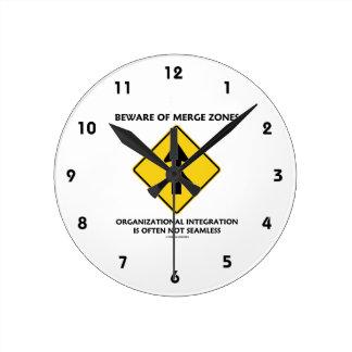 Guárdese de la integración de organización de las reloj redondo mediano