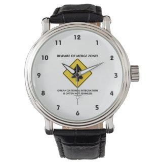 Guárdese de la integración de organización de las relojes de pulsera