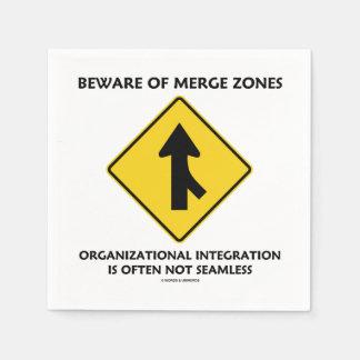 Guárdese de la integración de organización de las servilleta de papel