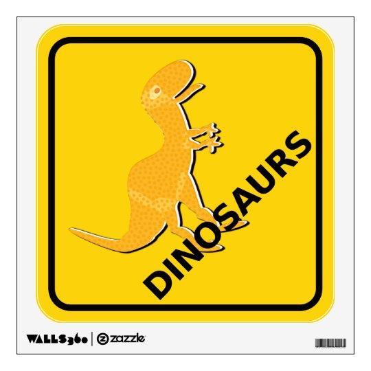 Guárdese de la muestra linda T-Rex de los dinosaur Vinilo Adhesivo