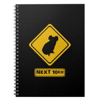 guárdese de las koalas note book