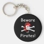 Guárdese de llavero de los piratas