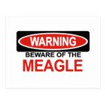 Guárdese de Meagle Tarjetas Postales
