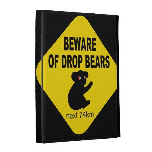 Guárdese de osos del descenso. Leyenda australiana