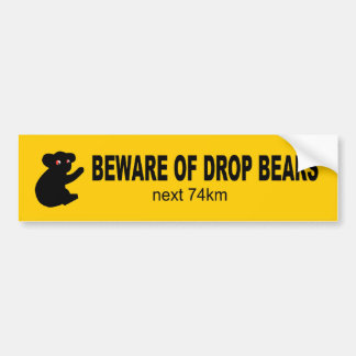 Guárdese de pegatina para el parachoques australia etiqueta de parachoque