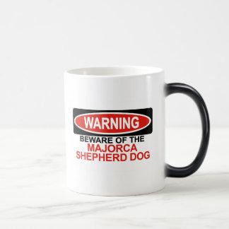 Guárdese de perro de pastor de Majorca Taza De Café