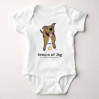 Guárdese de perro (si usted es una pelota de body para bebé
