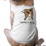 Guárdese de perro (si usted es una pelota de tenis ropa perro