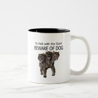 Guárdese de perro taza de café