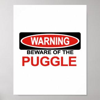Guárdese de Puggle Posters