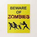 Guárdese de rompecabezas del zombi