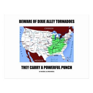 Guárdese de sacador potente de los tornados del ca tarjetas postales