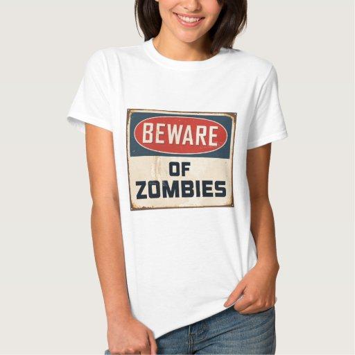 Guárdese de zombis poleras
