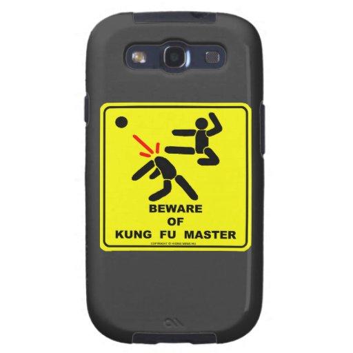 Guárdese del amo de Kung Fu Galaxy SIII Protectores