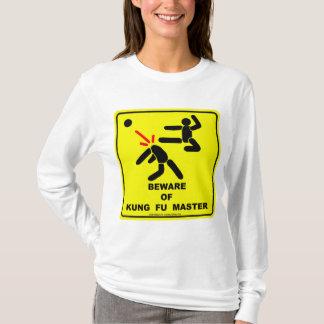 Guárdese del amo de Kung Fu Playera