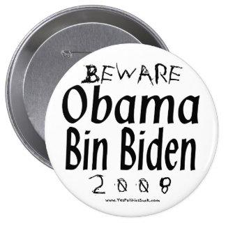 Guárdese del bin Biden de Obama Pin