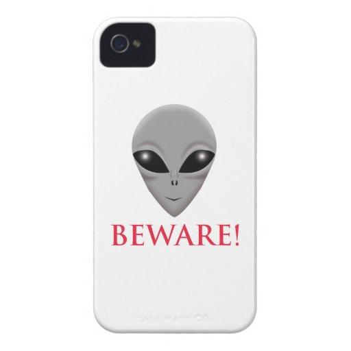 GUÁRDESE DEL EXTRANJERO iPhone 4 Case-Mate CÁRCASAS