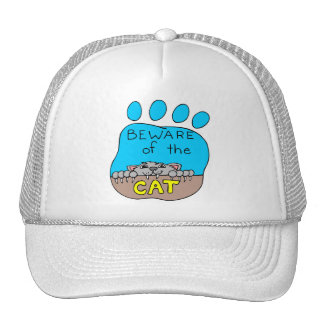Guárdese del gato: Casquillo lindo Gorro De Camionero