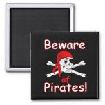 Guárdese del imán de los piratas