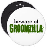 Guárdese del perno de Groomzilla Pin