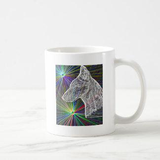 Guárdese - del perro taza clásica