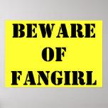 Guárdese del poster de Fangirl