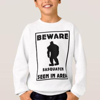 Guárdese del poster de Sasquatch Playera