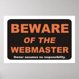 Guárdese del Webmaster Impresiones