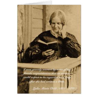 ¡Guárdese, los escritores de las mujeres! Tarjeta