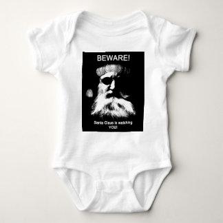 Guárdese--¡Santa le está mirando! Camisas