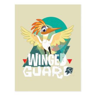 Guardia con alas el | Ono del guardia del león Postales