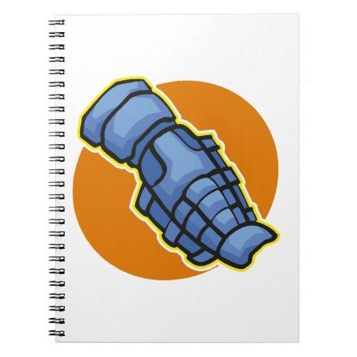 guardia de espinilla cuaderno