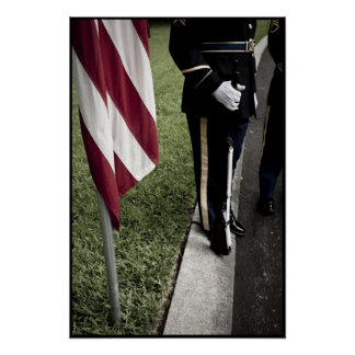 guardia de honor del ejército posters