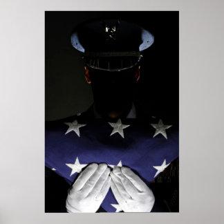 Guardia de honor del U.S.A.F. Póster