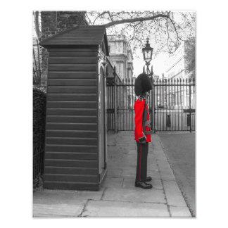 Guardia de la situación del guardia de la reina en fotografías