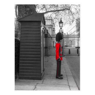 Guardia de la situación del guardia de la reina en tarjetas postales