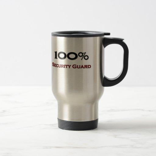 Guardia de seguridad del 100 por ciento taza térmica