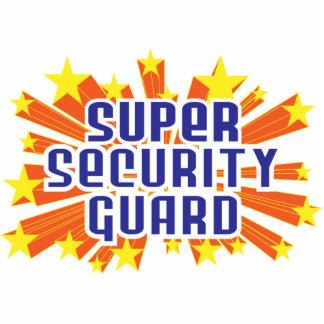 Guardia de seguridad estupendo adorno fotoescultura
