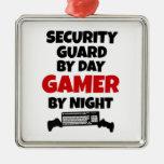 Guardia de seguridad por videojugador del día por  adorno de navidad