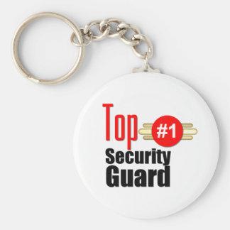 Guardia de seguridad superior llavero redondo tipo pin