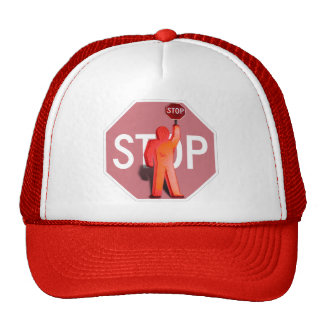 Guardia de travesía de escuela gorras