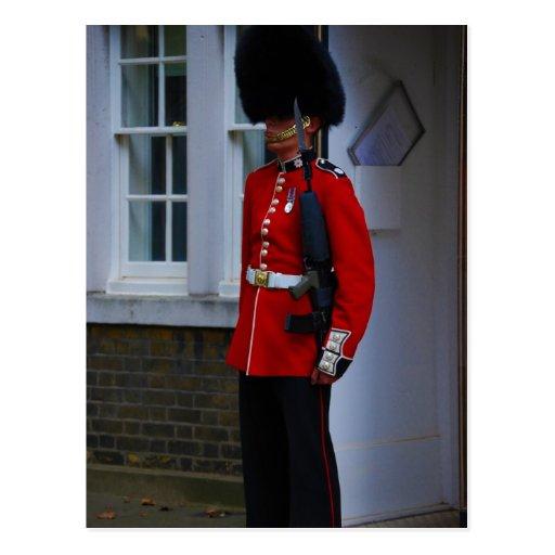 Guardia del Buckingham Palace Tarjeta Postal