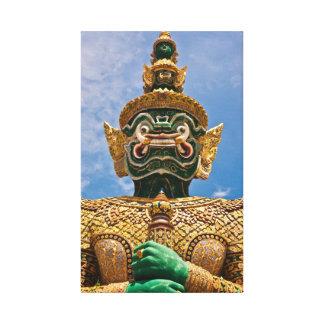 Guardia del demonio de Tailandia Impresion En Lona