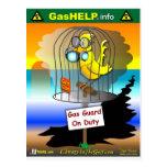 Guardia del gas de servicio postal
