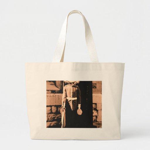 Guardia del hombre del gato bolsa de mano
