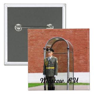 Guardia del Kremlin Pin Cuadrada 5 Cm