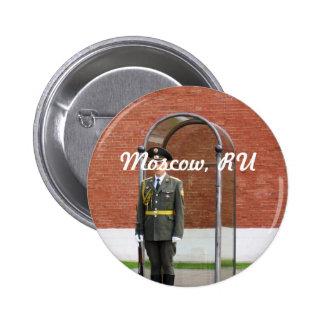 Guardia del Kremlin Pin Redondo 5 Cm