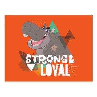 Guardia del león Beshte fuerte y leal del | Tarjetas Postales