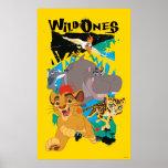 Guardia del león el | los salvajes póster