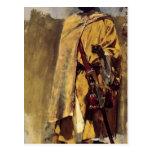 Guardia del Moorish de señor Weeks de Edwin Postales
